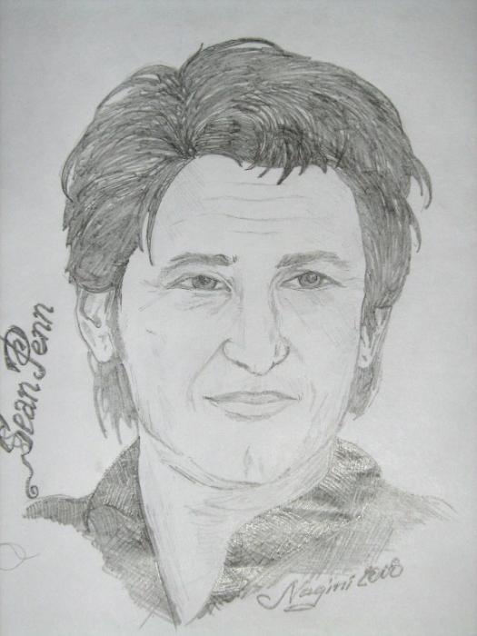 Sean Penn by Nagini